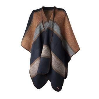 Barts Journey Poncho Fashion accessoires Blauw Acryl