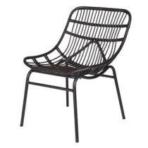 BePureHome Chat Loungestoel Stoelen Zwart
