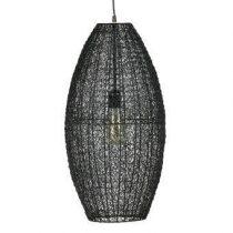 BePureHome Creative Hanglamp L Verlichting Zwart Metaal