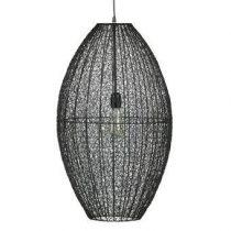 BePureHome Creative Hanglamp XL Verlichting Zwart Metaal