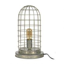 BePureHome Hive Kooi Tafellamp Verlichting Grijs Metaal