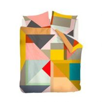 Beddinghouse Barbados Dekbedovertrek 200 x 220 cm Slapen & beddengoed Multicolor Satijn