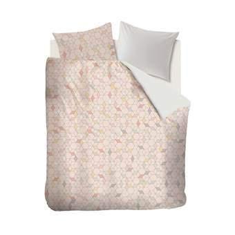 Beddinghouse Cameo Dekbedovertrek 200 x 220 cm Slapen & beddengoed Roze Satijn