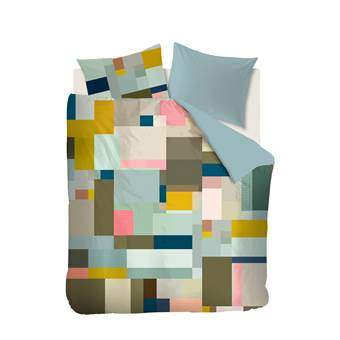Beddinghouse Foix Dekbedovertrek 240 x 220 cm Slapen & beddengoed Multicolor Satijn