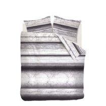 Beddinghouse Gerona Dekbedovertrek 200 x 220 cm Slapen & beddengoed Grijs