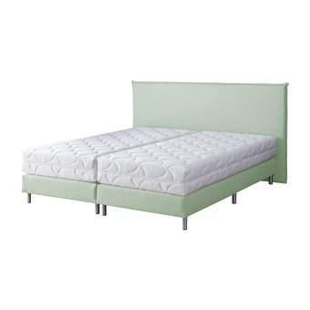 Bedmen City Boxspring 140 x 200 cm Slapen & beddengoed Groen RVS