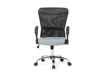 Beliani Burostoel zwart-grijs - bureaustoel - BOSS Stoelen Zwart Mesh