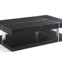 Beliani Design salontafel - Tafel - Koffietafel - Clubtafel - BRAGA Tafels Zwart MDF