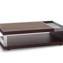 Beliani Design salontafel - Tafel - Koffietafel - Clubtafel - FARO Tafels Bruin MDF