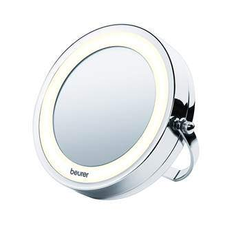 Beurer BS59 Verlichte Cosmeticaspiegel Badkameraccessoires Zilver Glas