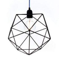 Big Design Aqua/Ferro Hanglamp Verlichting Zwart IJzer