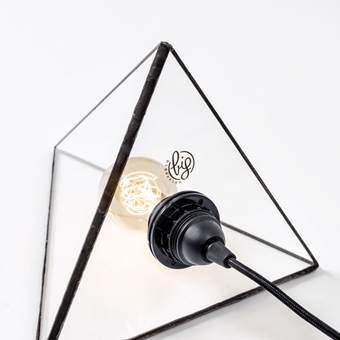 Big Design Fuoco/Ferro Hanglamp Verlichting Zwart Glas