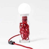 Big Design Pulse Tafellamp L Verlichting Rood Glas