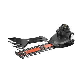 Black & Decker Extra MultiEvo Kop Gazononderhoud Zwart Metaal