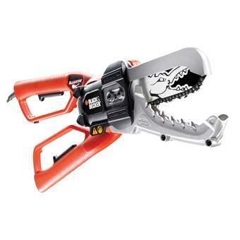 Black & Decker GK1000-QS Alligator Snoeizaag Boom- & struikonderhoud Oranje