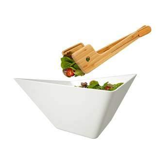 Black+Blum Forminimal Saladeschaal met Couvert Servies Wit Kunststof