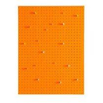 Block Pegboard Pinbord L Wanddecoratie & -planken Oranje Hout