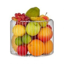 Blomus Estra Fruitmand L Tafelpresentatie Zilver RVS