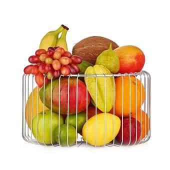 Blomus Estra Fruitmand M Tafelpresentatie Zilver RVS