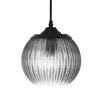 Bloomingville Glazen Hanglamp Verlichting Grijs Glas