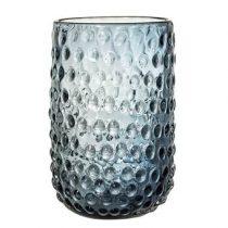 Bloomingville Glazen Vaas Woonaccessoires Blauw Glas