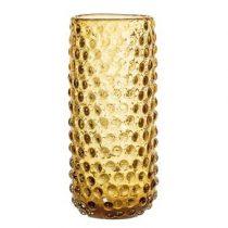 Bloomingville Glazen Vaas Woonaccessoires Bruin Glas