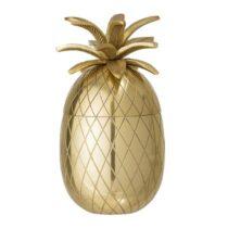 Bloomingville Gouden Ananas Opbergen Goud Aluminium