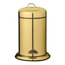 Bloomingville Gouden Pedaalemmer 3 L Afvalemmers Goud RVS