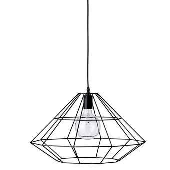 Bloomingville Pendant Hanglamp Metaal Verlichting Zwart Metaal