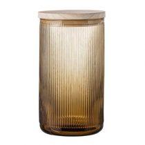 Bloomingville Voorraadpot Opbergen Bruin Glas