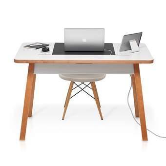 Bluelounge StudioDesk II Regular Bureau Bureaus & bureaustoelen Wit Hout