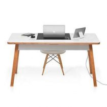 Bluelounge StudioDesk II XL Bureau Bureaus & bureaustoelen Wit Hout