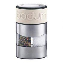 Bodum Twin Peper- en zoutmolen Peper & zoutmolens Wit Kunststof