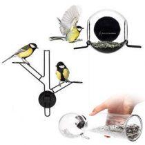 Born in Sweden Bird Feeder Kit Vogelhuisjes & dierenverblijven Transparant
