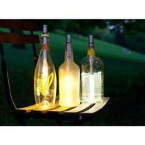 Bottle Light - set van 3 Gadgets  Aluminium