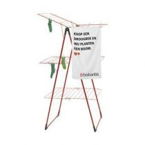 Brabantia Droogtoren 23 m Droogrekken & drooglijnen Rood Kunststof