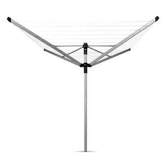 Brabantia Lift-O-Matic Advance Droogmolen 50 m Droogmolens Zilver Kunststof