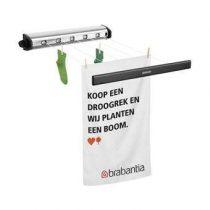 Brabantia Roldrooglijn Droogrekken & drooglijnen Zilver Kunststof