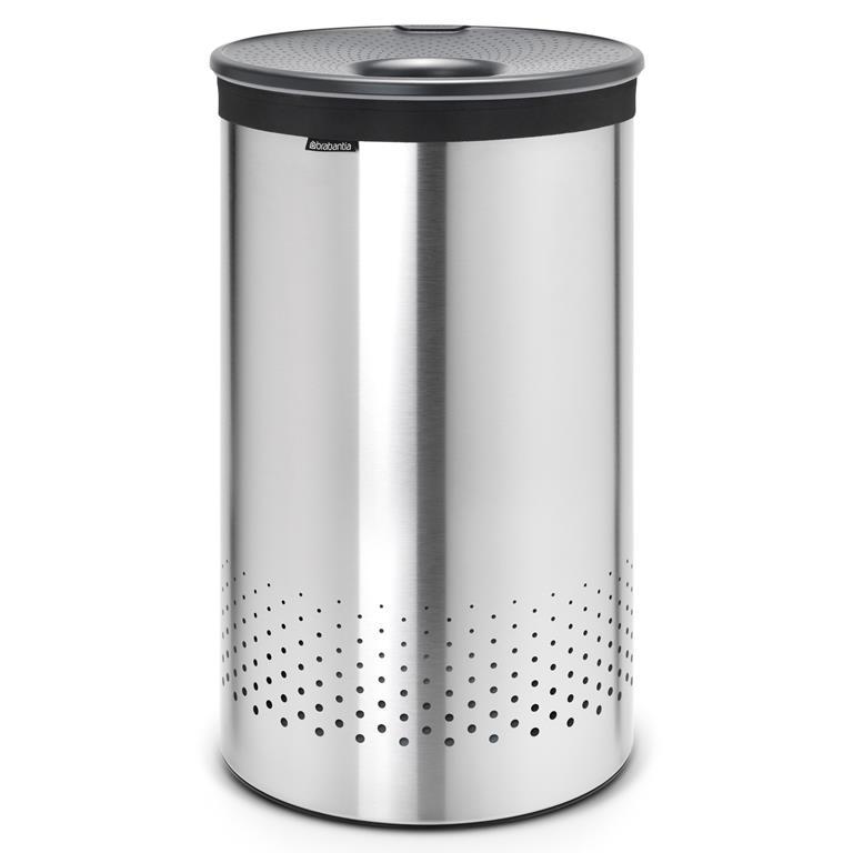 Brabantia Wasbox 60 L Wasmanden Zilver Kunststof