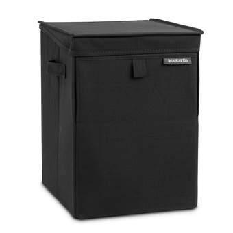 Brabantia Wasbox Stapelbaar 35 L Wasmanden Zwart Textiel
