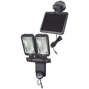 Brennenstuhl LV1205 Wandlamp Buitenverlichting Grijs Aluminium