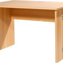 0.00 - Bureau Power 120 cm breed - Edel beuken - Kantoortafels