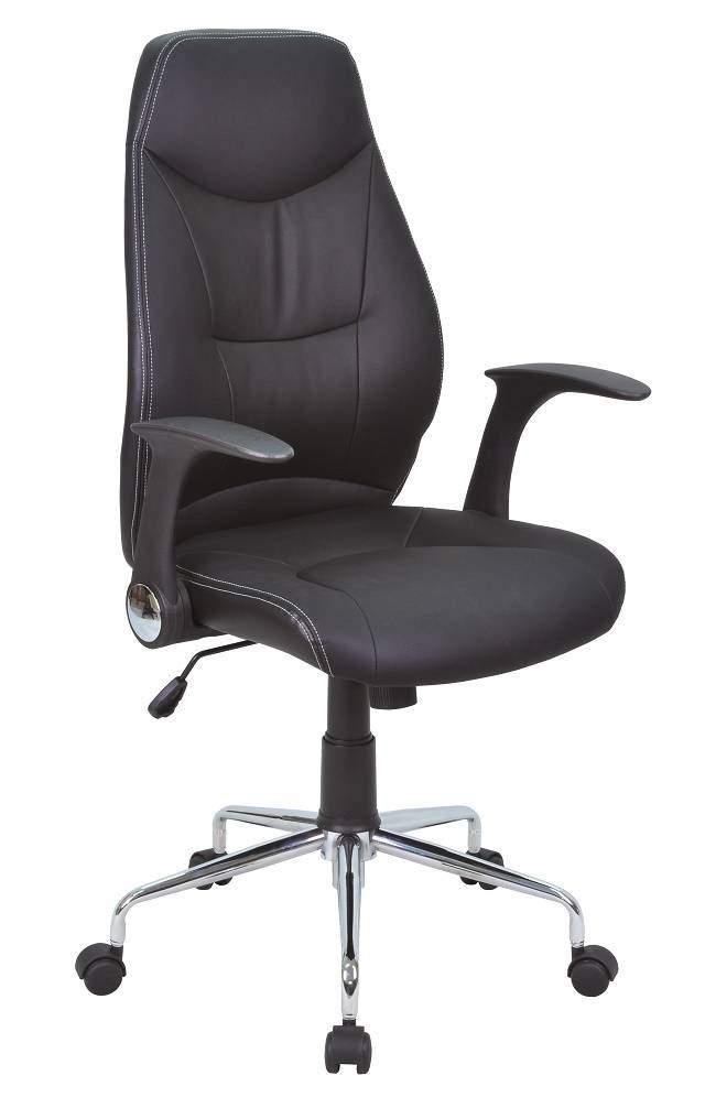 0.00 - Bureaustoel Dirk - Zwart - Kantoorstoelen