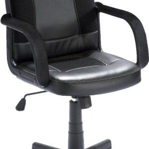 0.00 - Bureaustoel Nicole - Zwart - Kantoorstoelen
