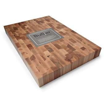 Butler Hakblok Beukenhout 60 x 40 cm Kookgerei Bruin Hout
