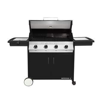 Cadac Meridian Black 4 side burner Barbecues Zwart Staal