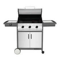Cadac Meridian Stainless Steel 3 side burner Barbecues Zilver RVS