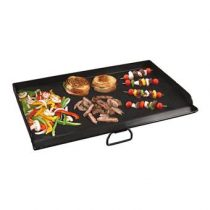 Camp Chef Flat Top Dubbele Grillplaat B 80 x D 36 cm Barbecue accessoires Zwart Staal