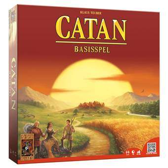 Catan Basisspel Bordspellen Multicolor Karton