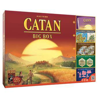 Catan Big Box Bordspellen Multicolor Karton